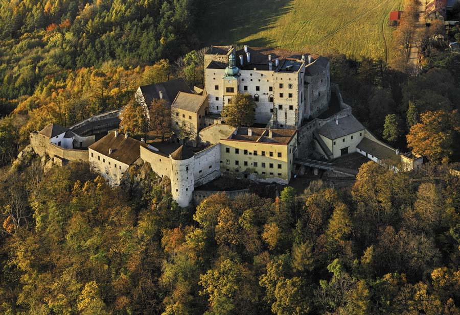castillo de Buchlov en republica checa