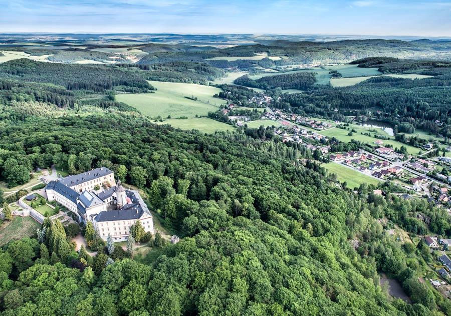 castillo de Zbiroh en republica checa