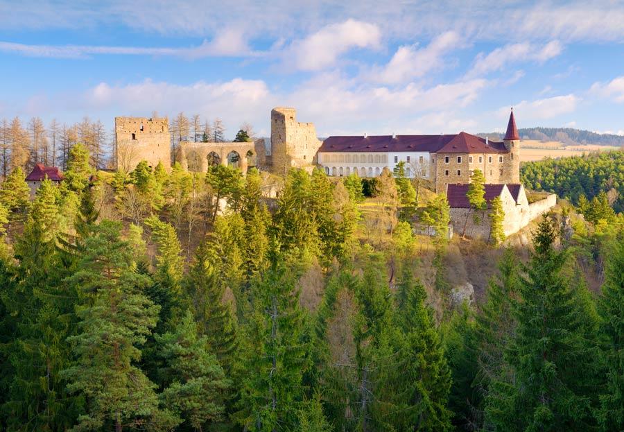 Castillo de Velhartice en republica checa