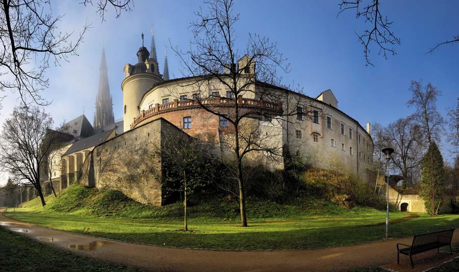 Palacio de Olomouc ruta castillos checos