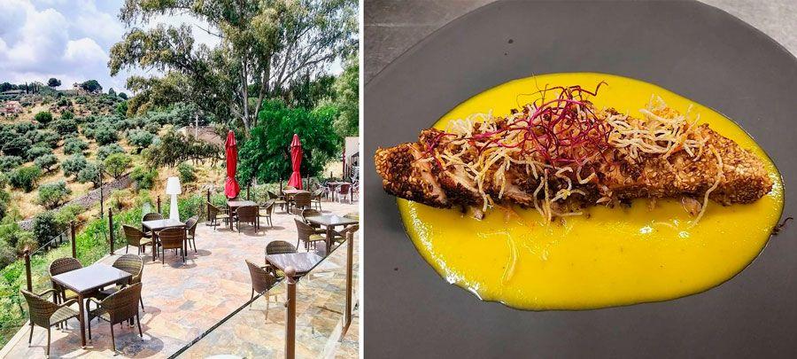 Restaurante Hierbabuena con terraza en Toledo