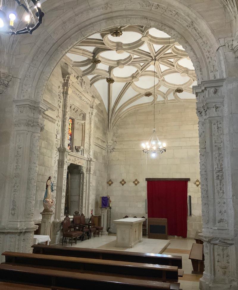 sacristia del monasterio de ucles