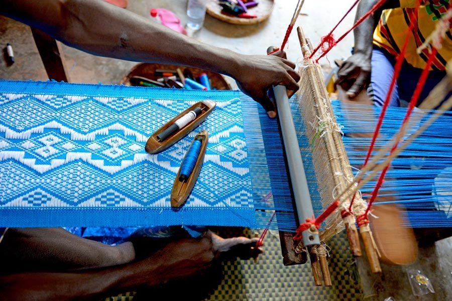tejido artesano de guinea bissau
