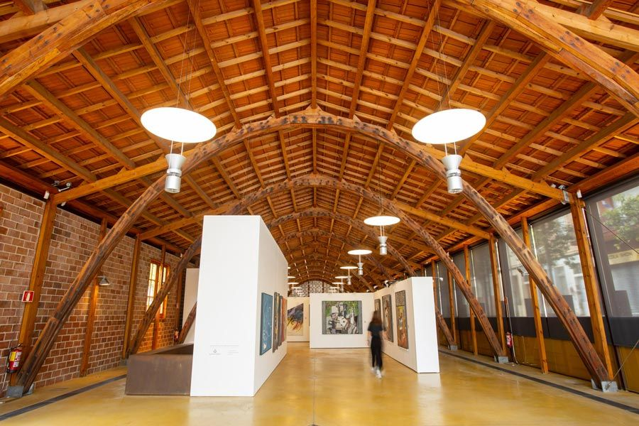 nau gaudi museo arte contemporaneo de mataro