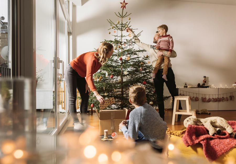 decorar el arbol de navidad en alemania