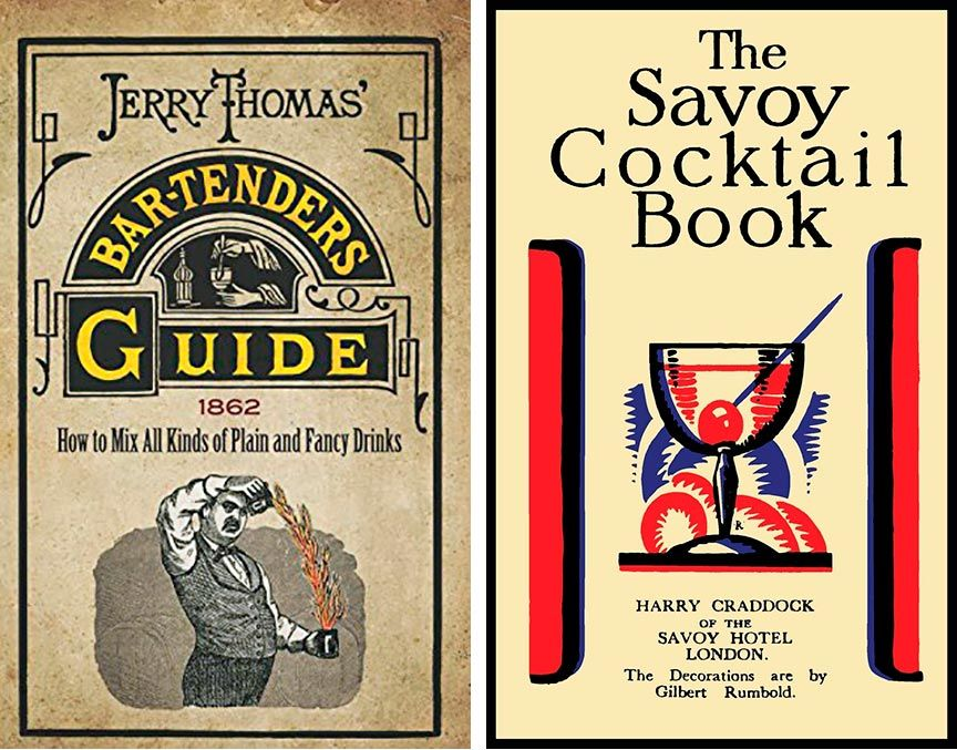 Bar-tenders Guide y The Savoy Cocktail Book