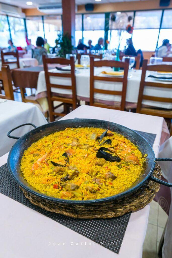 arroz del restaurante l estany