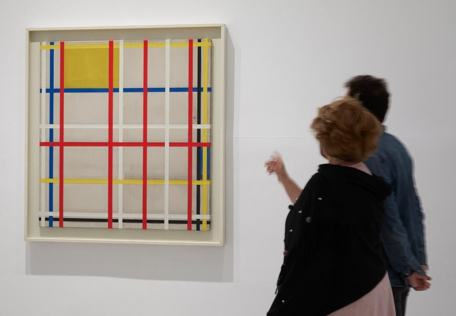 New York City de Mondrian expo reina sofia