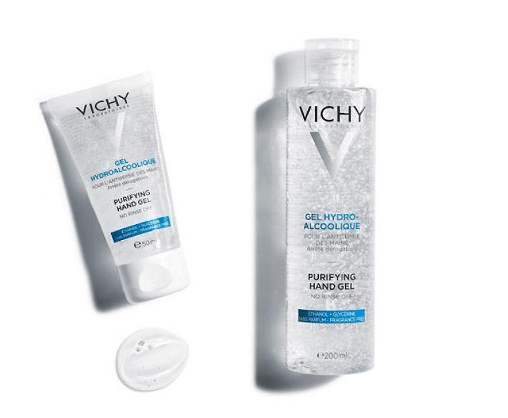 gel de manos hidroalcoholico vichy