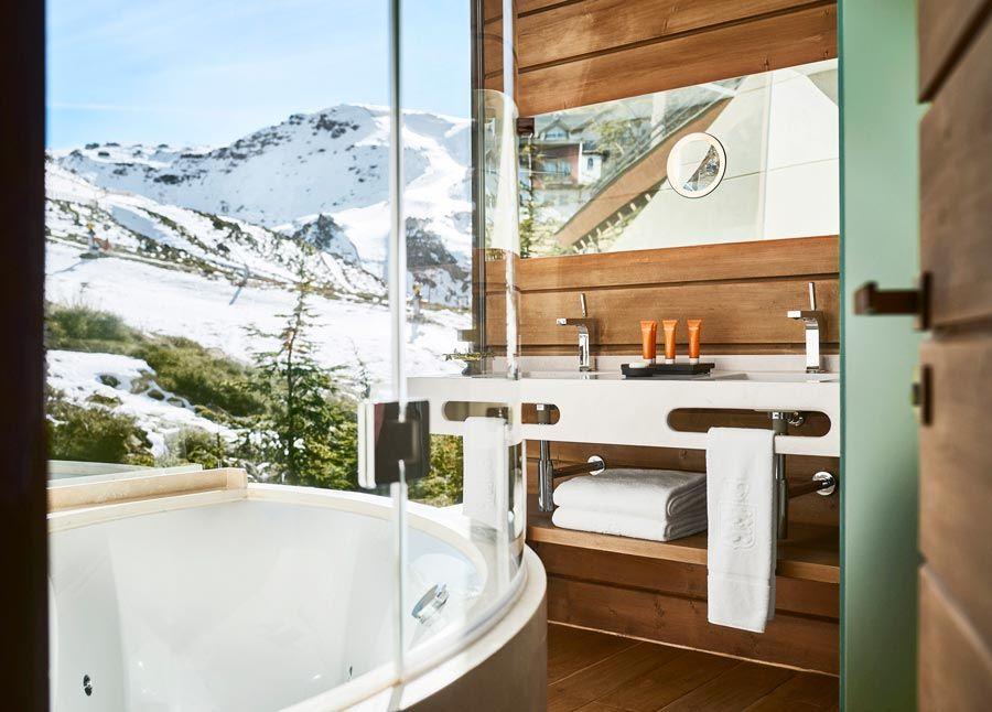 suite con vistas a sierra nevada