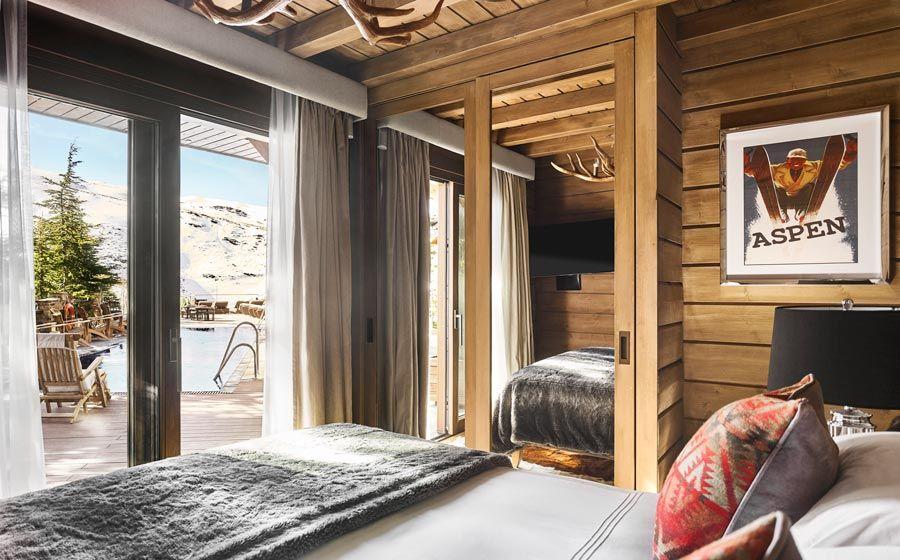 suite con piscina hotel de sierra nevada