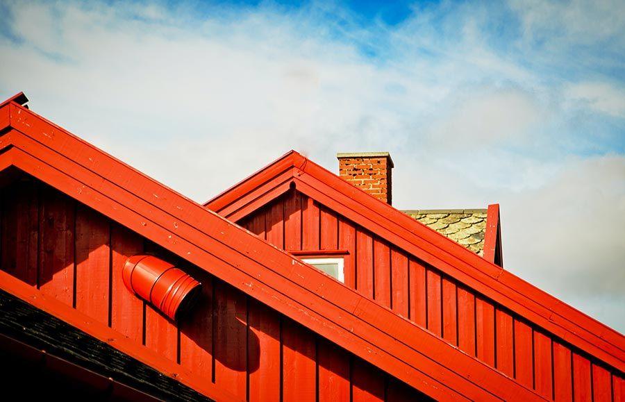 tejados de flam en noruega