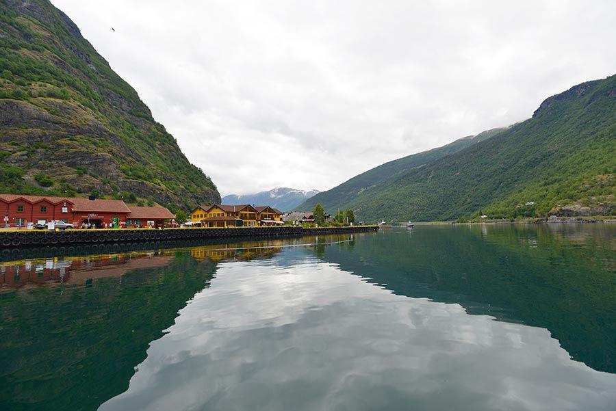 flam en fiordo noruego