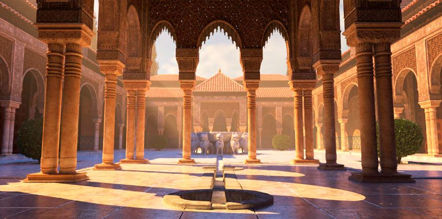 alhambra en pelicula tadeo jones