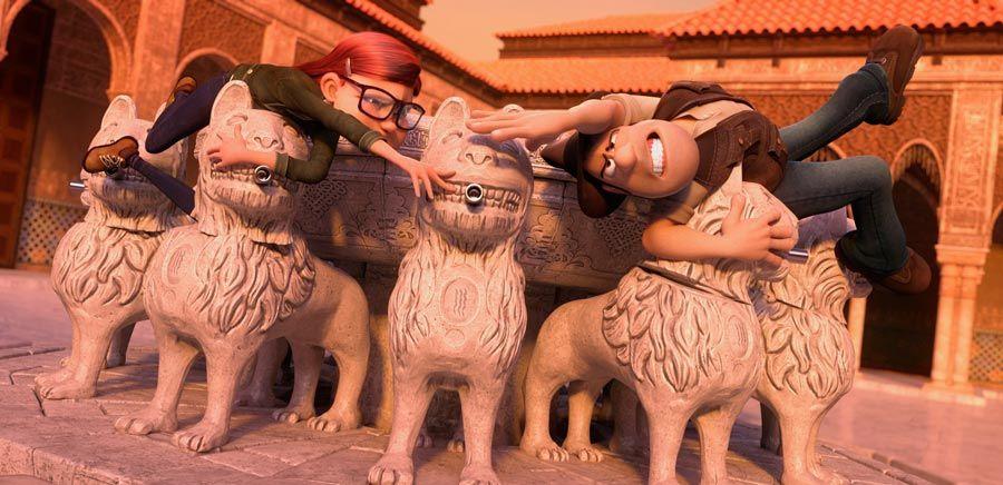 patio de los leones alhambra tadeo  jones