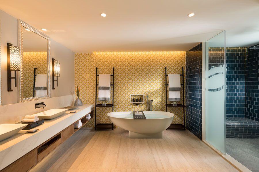 Suites en hoteles de lujo