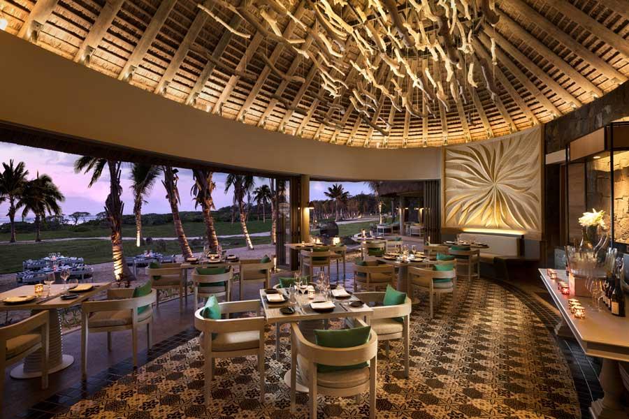 Restaurantes en isla Mauricio