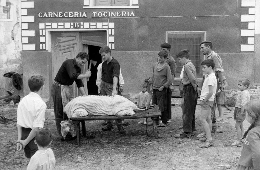 Carlos Saura, Canete, Cuenca, 1962