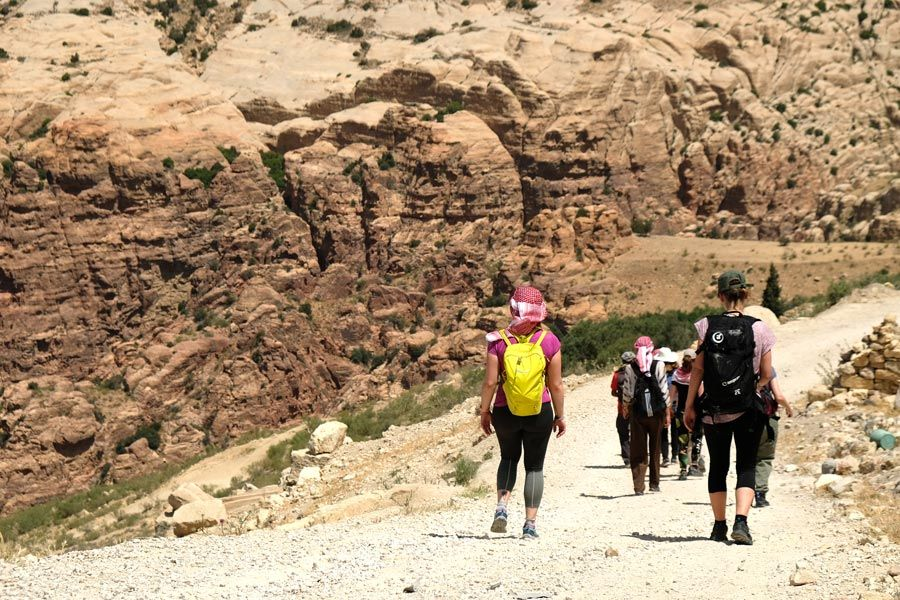 trekking de dana a petra