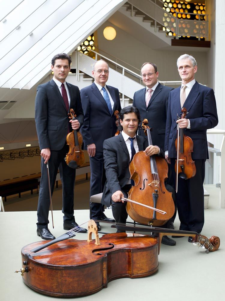 quinteto filarmonica de berlin en la Ciclo de Musica e Interpretes de la UAM