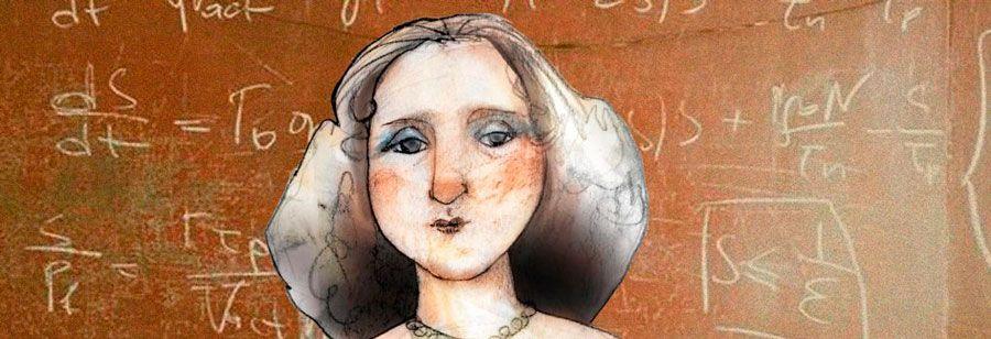 dibujo primera mujer matemática de España