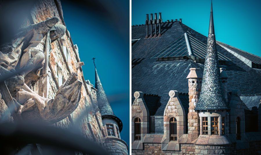 dragon y torre de casa botines