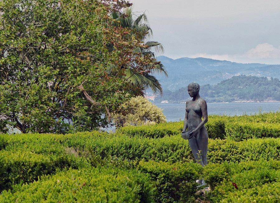 jardin de islas de san simon vigo
