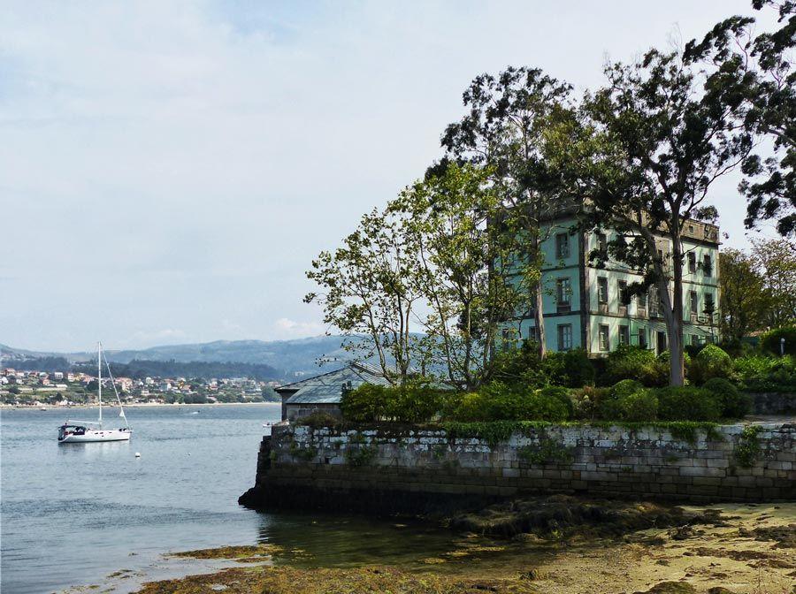 vista de san simon isla de vigo