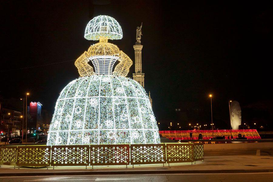 Luces navidad en Madrid