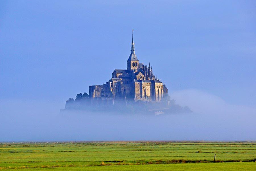 mont saint michel, viaje normandia, francia