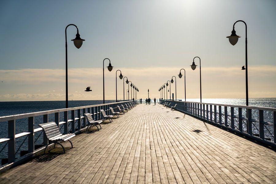 embarcadero del Báltico