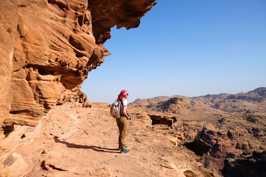 viajar sola a jordania