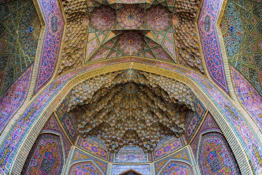 mujeres en iran, shiraz