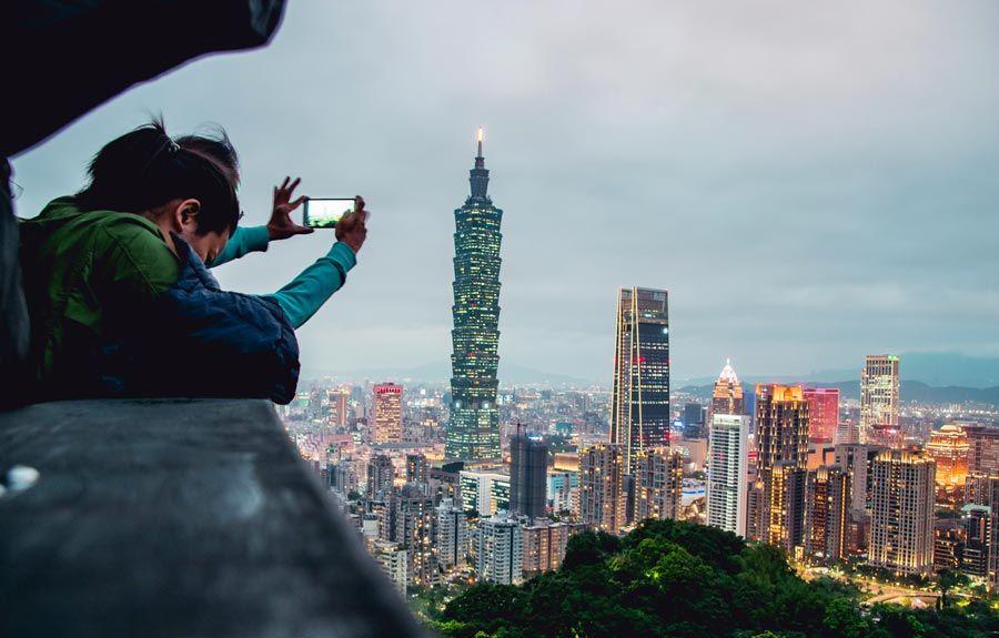 mujeres viajeras en taiwan