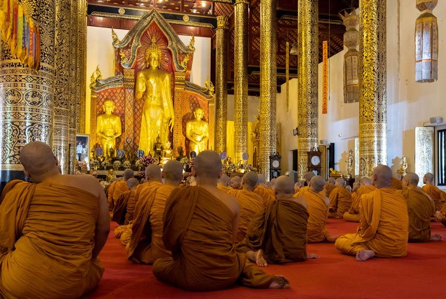 Wat Chedi Luang en Chiang Mai