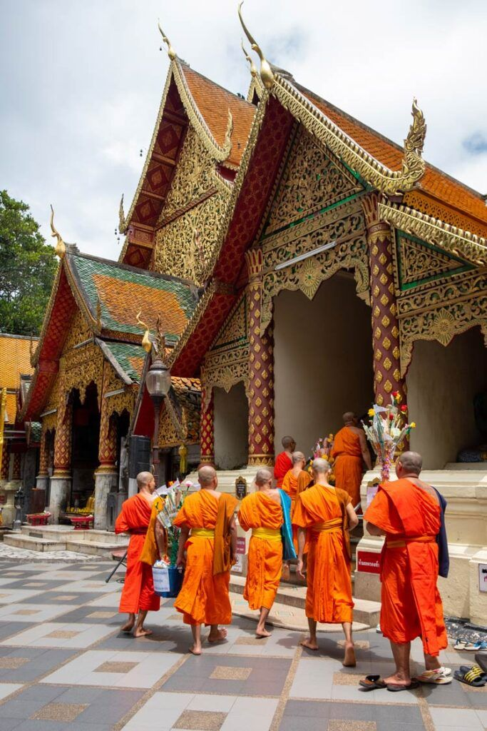 Wat Phra That Doi Suthep en Chiang mai