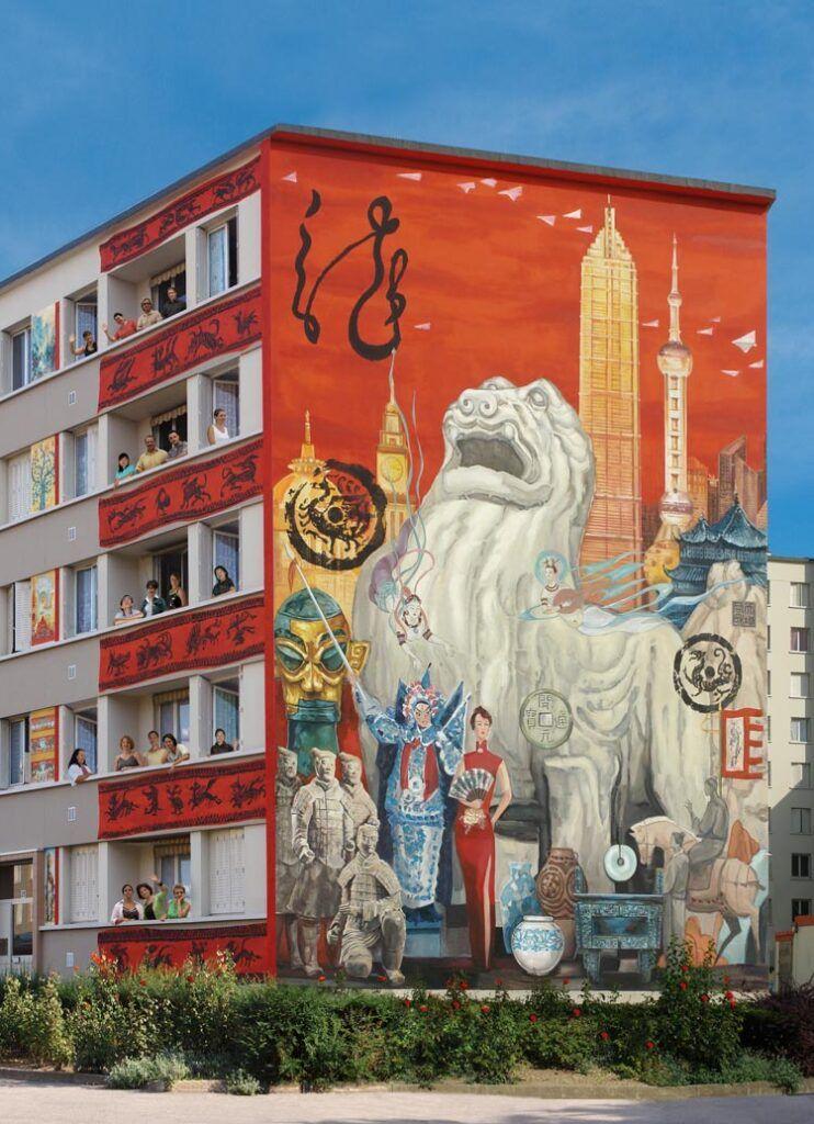 frescos de Shanghai en Lyon