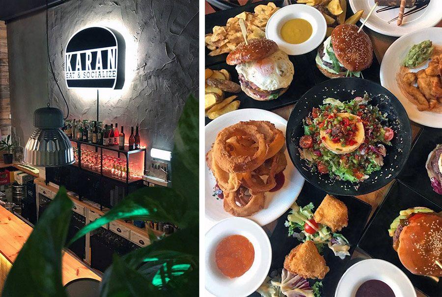 restaurante karan hamburguesas en gijon