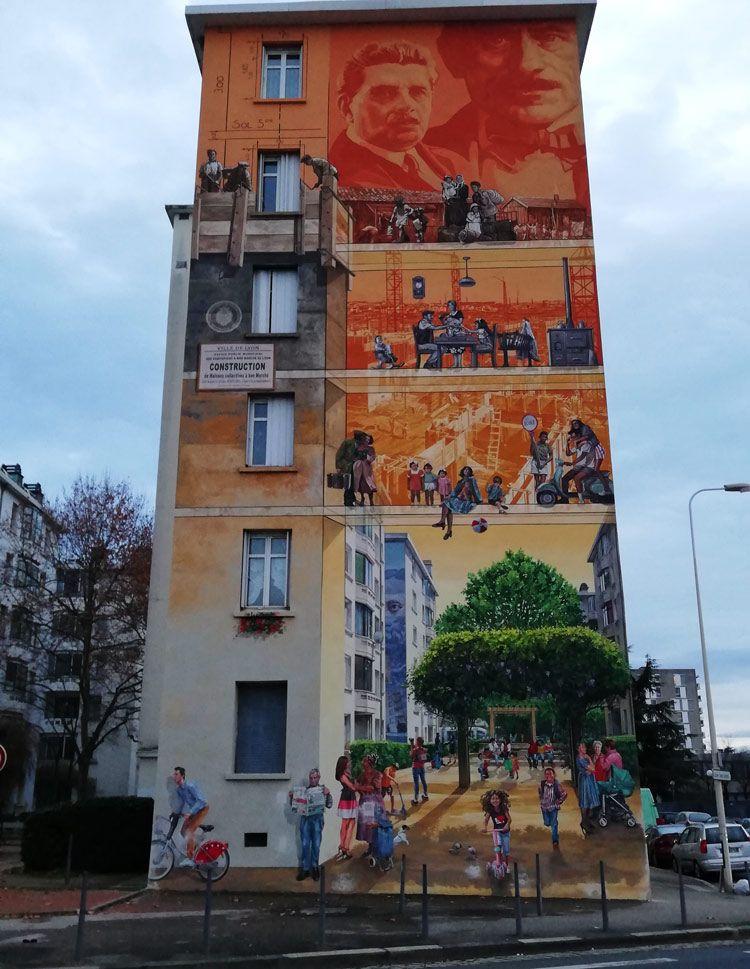 mural museo tony garnier de lyon