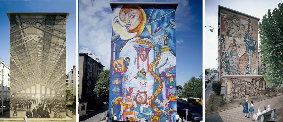 murales de lyon