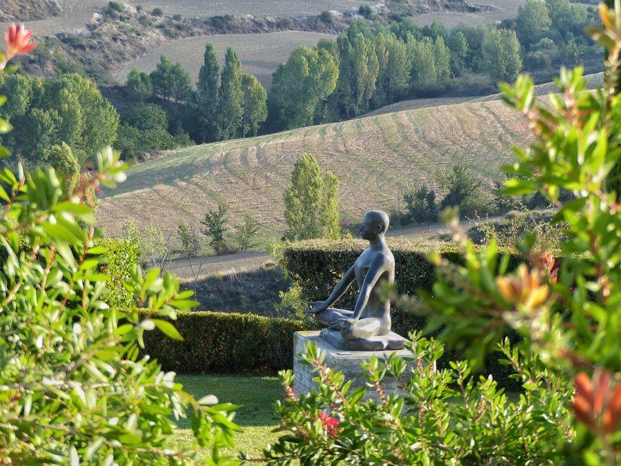 jardines del Museo Henri Lenaerts navarra