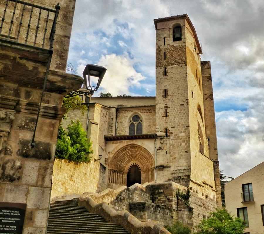 iglesia San Pedro de la Rua en Estella