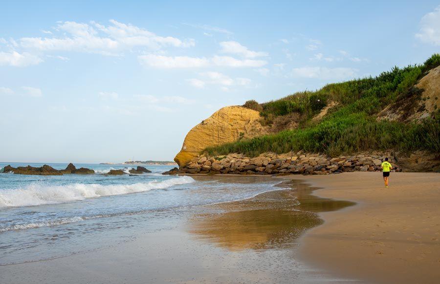 playa El Roque conil de la frontera