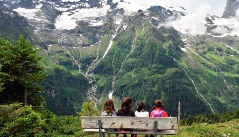 viajes con niños a Suiza