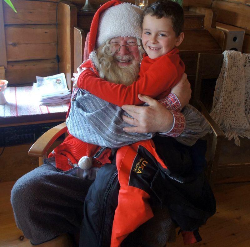 viajar en familia en Laponia