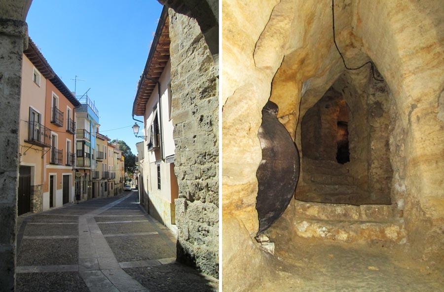 brihuega y bodega en cueva viaje a la alcarria