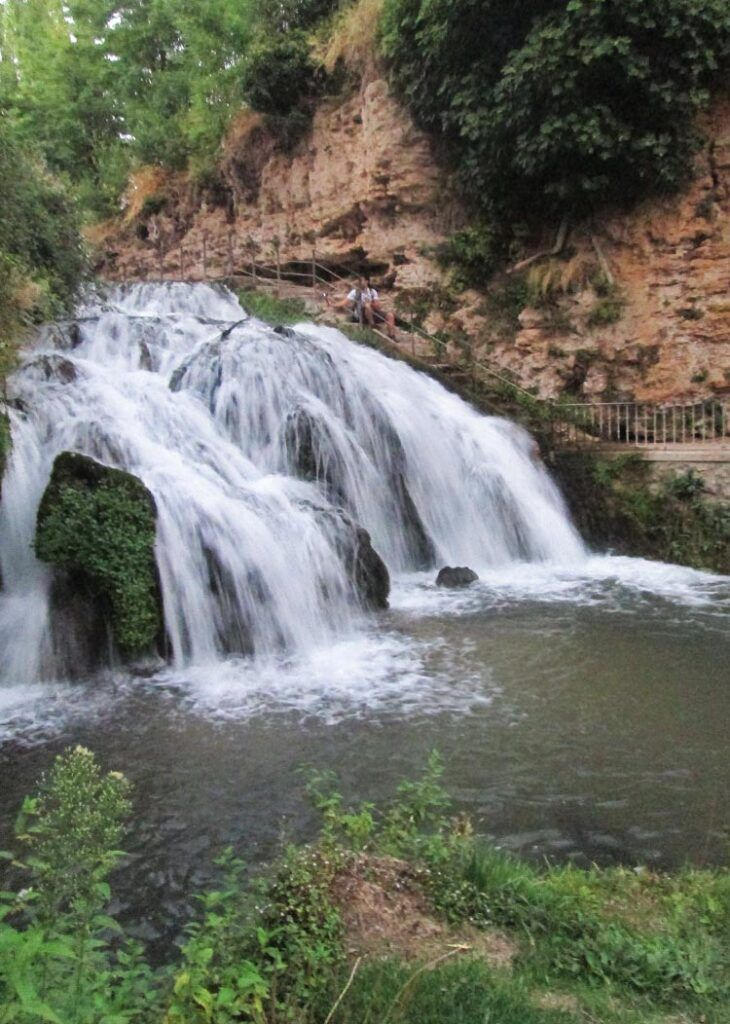 cascadas de Trillo viaje a la alcarria