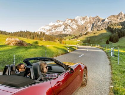 Ruta en coche por Suiza