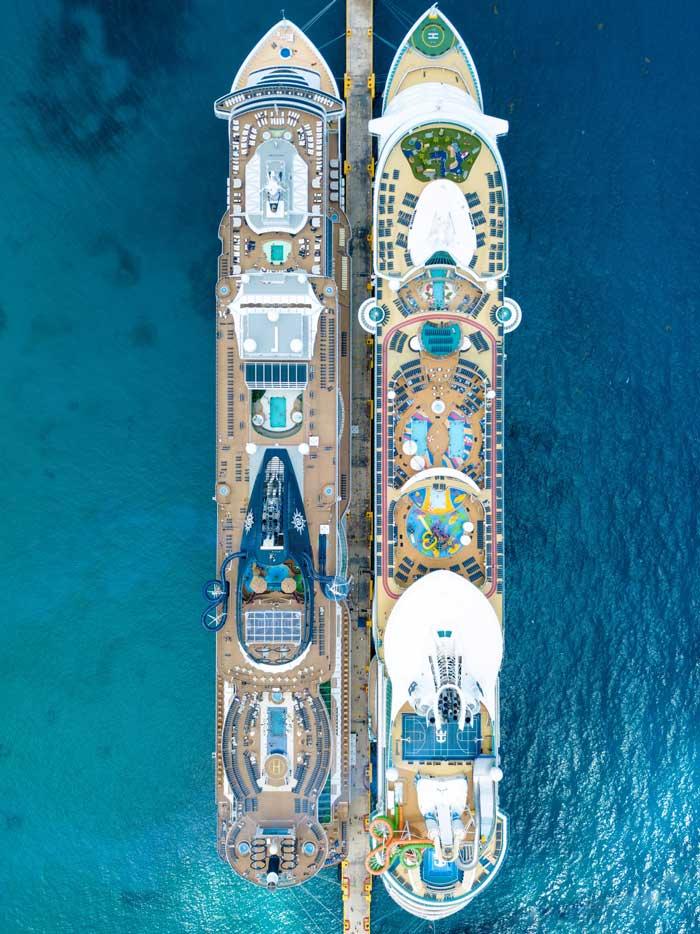 organizar en crucero royal caribbean