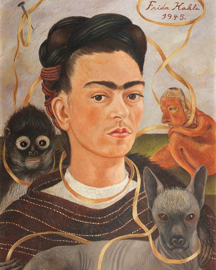 autorretrato Frida Kahlo